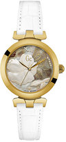 Gc LadyChic Gold Plated Strap Watch