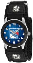 Game Time Rookie Series New York Rangers Silver Tone Watch - NHL-ROB-NYR - Kids