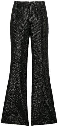 Alberta Ferretti studded trousers