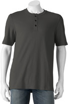 Croft & Barrow Big & Tall Signature Classic-Fit Easy-Care Henley