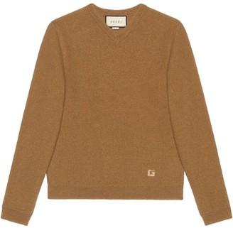 Gucci intarsia G knitted jumper