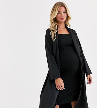 Queen Bee Maternity jacket coord in black
