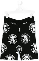 Philipp Plein Junior skull print shorts