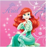 Little Mermaid Lunch Napkins 16 Ct.