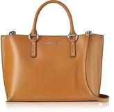 Armani Jeans Pumpkin Eco Leather Signature Tote Bag