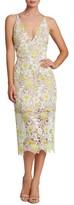 Dress the Population Women's Aurora Floral Midi Dress