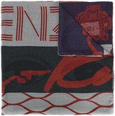 Kenzo Tiger scarf - women - Modal/Cashmere - One Size