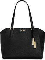 Calvin Klein Key Items Saffiano Leather Tote