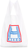 Caroline Bosmans printed shopper bag