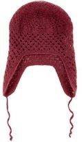 Bonpoint Girls' Open Knit Tie-Accented Beanie