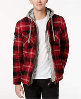 Superdry Men's Everest Storm Plaid Shirt Jacket