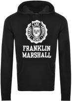 Franklin & Marshall Franklin Marshall Logo Hoodie Black