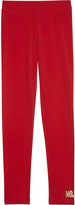 Moschino Logo cotton leggings 4-14 years
