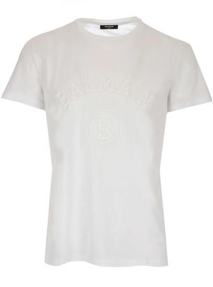 Balmain Embossed Logo T-Shirt
