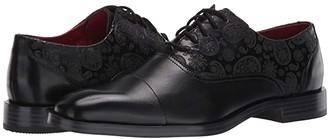 Stacy Adams Quince Cap Toe Oxford (Black) Men's Shoes