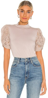Generation Love Alanna Combo Lace Top
