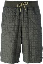adidas quilted knee length shorts