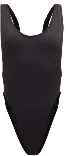 Thumbnail for your product : Norma Kamali Marissa Scoop-back Swimsuit - Black