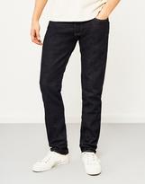 Hawksmill 14oz Organic Crinkle Rinse Slim Tapered Fit Jeans
