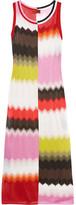 Missoni Crochet-knit Maxi Dress - Pink