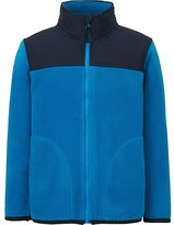Uniqlo Boys Fleece Full-Zip Long Sleeve Jacket
