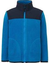 Uniqlo Boys Fleece Full-Zip Long Sleeve Jacket