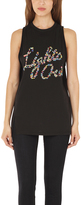 "3.1 Phillip Lim Cut In ""Lights Out"" Tank"