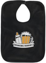 TeeStars - Drinking Buddies Father's Day Gift Baby & Dad Cute Baby Bib
