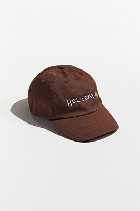 Holiday UO Exclusive Script Baseball Hat
