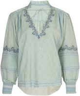 Jonathan Simkhai Tallie Bohemian Cotton Top