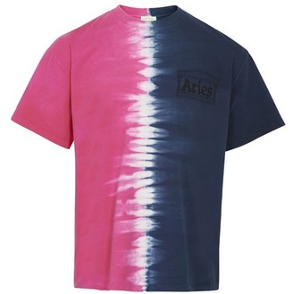 Aries Tie & Dye Half and Half t-shirt