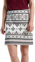 White Stuff Treasure Me Skirt, Ecru/Multi
