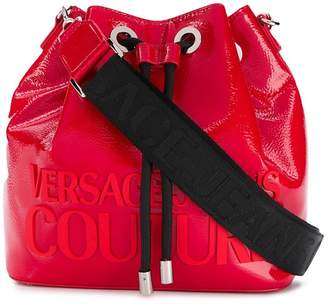 Versace branded small bucket bag