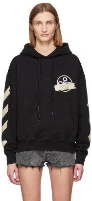 Off-White Off White Black Tape Arrows Over Hoodie