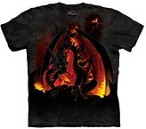 The Mountain Men's Fireball Dragon T-Shirt XL
