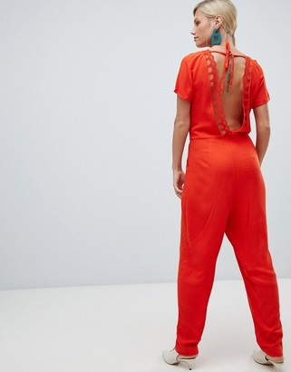 Vila v back jumpsuit