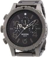 Nixon Men's 48-20 A486632 Gunmetal Stainless-Steel Quartz Watch