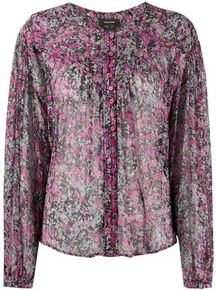 Isabel Marant Ritonea sheer blouse
