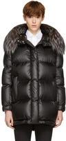 Prada Black Down Ripstop Puffer Coat