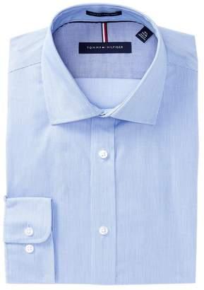 Tommy Hilfiger Non-Iron Slim Fit Stripe Dress Shirt