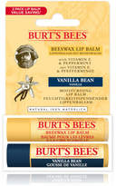 Burt's Bees Beeswax & Vanilla Bean Lip Duo Pack