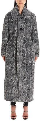 DSQUARED2 Belted Fur Coat