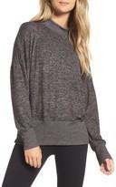 Zella Women's Cozy Mock Neck Pullover