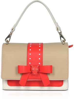 Roccobarocco Bow Shoulder Bag