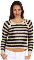 Patterson J. Kincaid Bronson Button Pullover (Birch White/Dress Blue) - Apparel