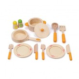Hape Wooden tea set Multicoloured