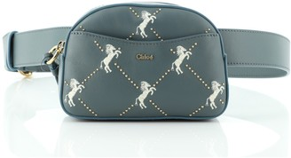 Chloé Belt Bag Studded Embroidered Leather Small