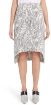 Marni Women's Beardsley Print Poplin Skirt