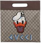 Gucci Donald Duck Gg Supreme Medium Tote Bag