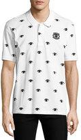 Kenzo Eyes Icon Polo Shirt, White